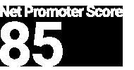 Net Promoter Score 85